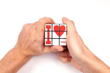 I make a present of my heart