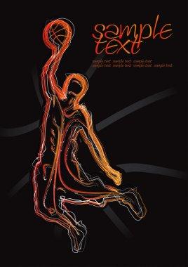 Basketball Silhouette Set 1
