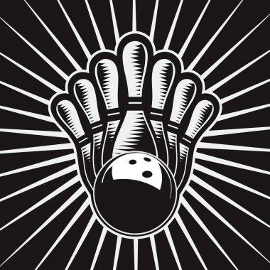 Bowling Ball Design Element Set 4