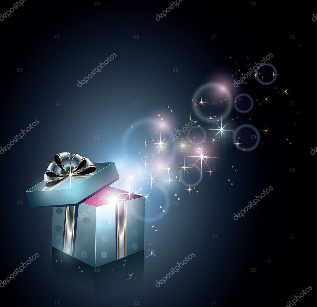 Magical gift box