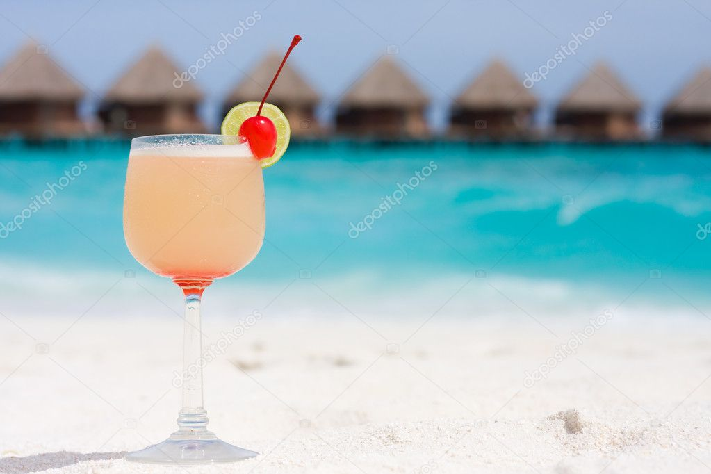 Cocktail on a beach