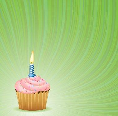 Birthday Green Background