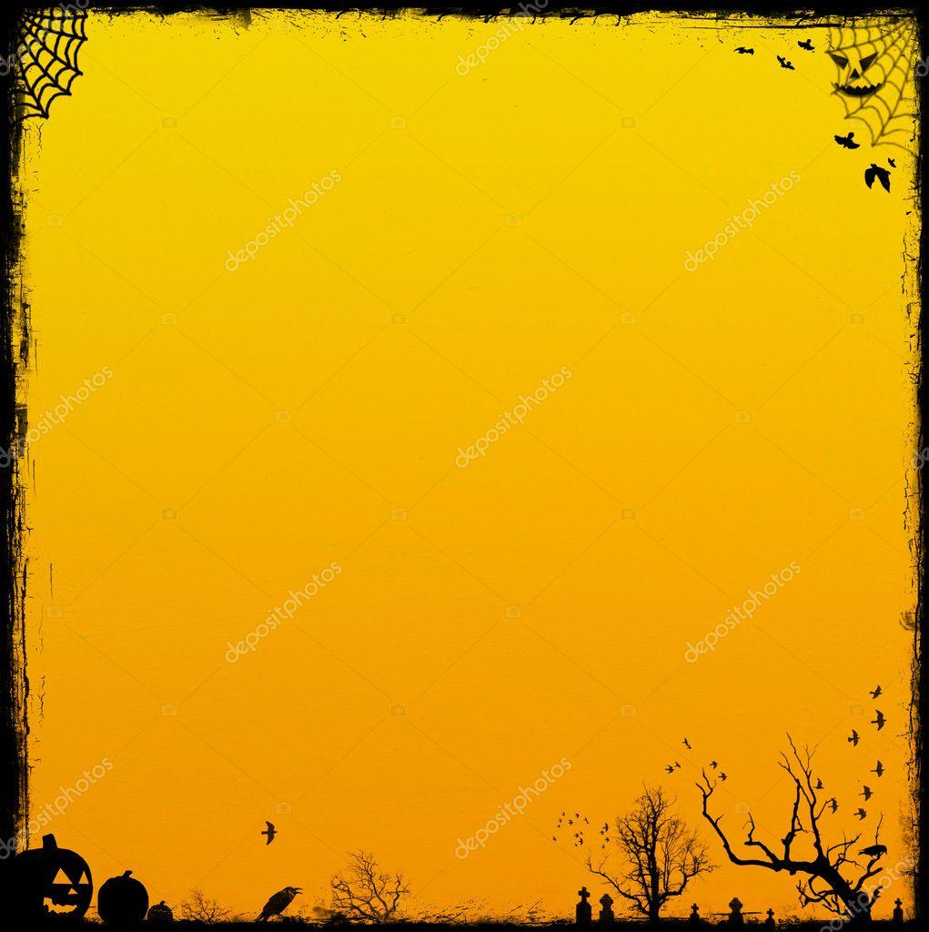 Orange Halloween Background Stock Photo magicinfoto 4734846