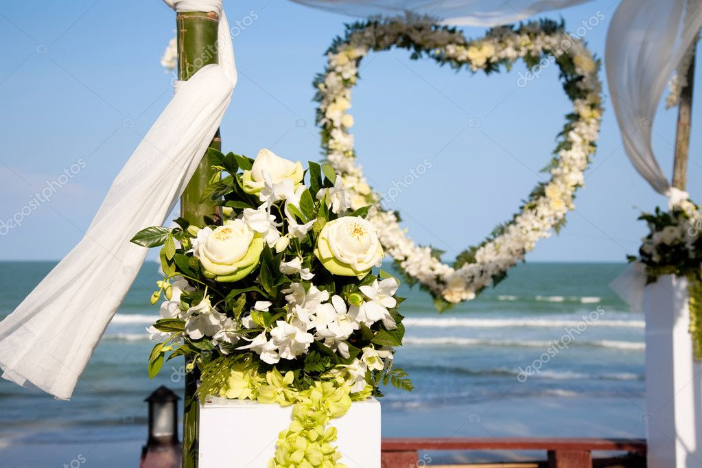 Decoration of wedding ceremony.