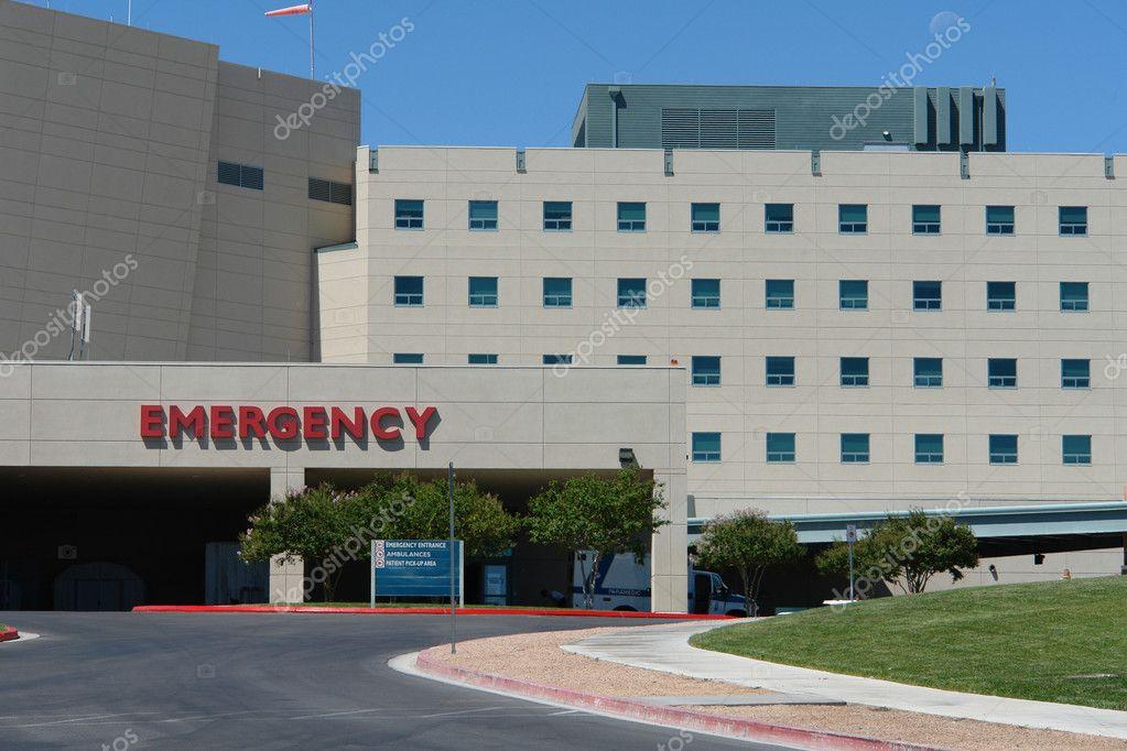Emergency hospital building