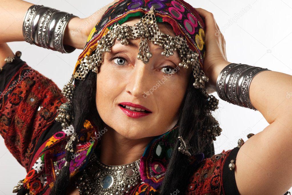 reife indische Frau