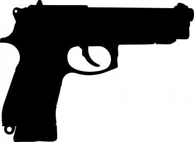 Silhouette pistol