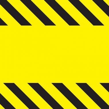 Caution Construction background