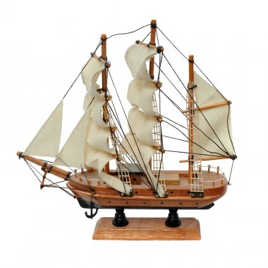 Miniature ship model
