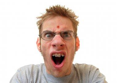 Pimple on forehead