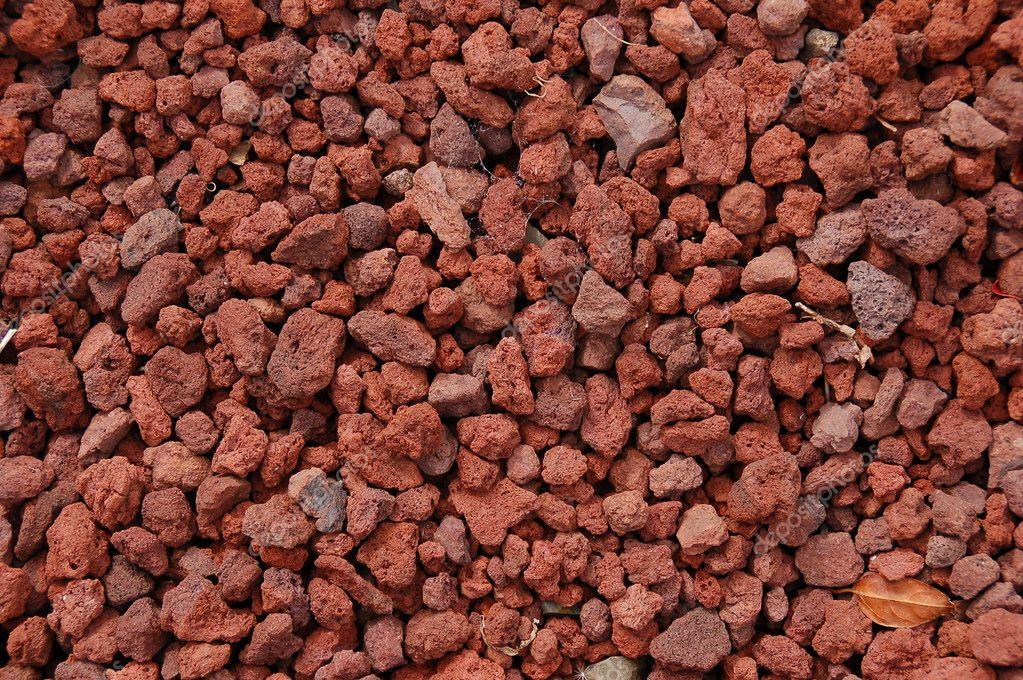 Textura de la roca volc nica roja fotos de stock vlue for Piedra volcanica para jardin