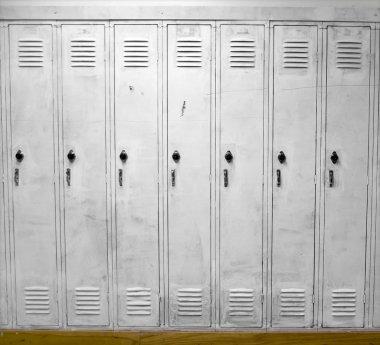 White Lockers