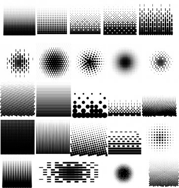 Halftone Collection Set