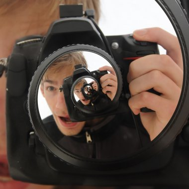 DSLR Camera Spiral Twirl