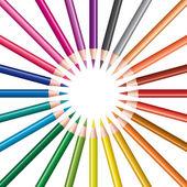Sada barevných tužek