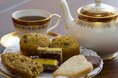 English Tea and desserts