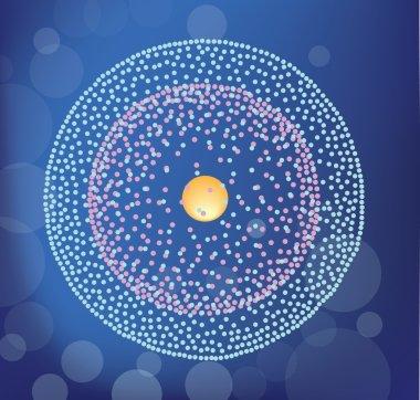 Berillium atom structure