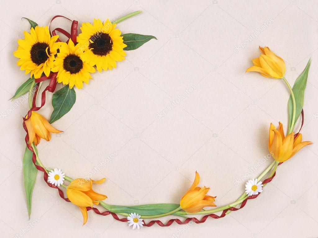 Floral frame-020