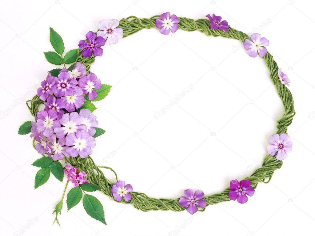 Floral frame-016