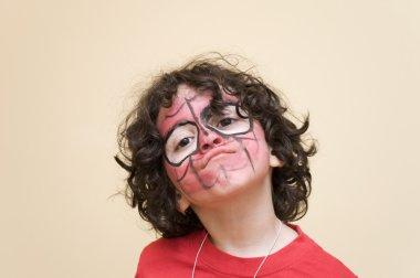 A boy expression