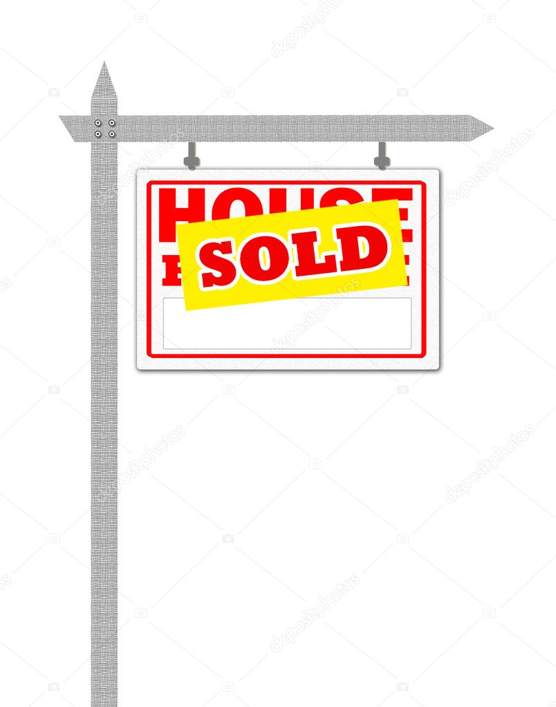 For Sale Sold Sign: Stock Photo © Payphoto #4725414