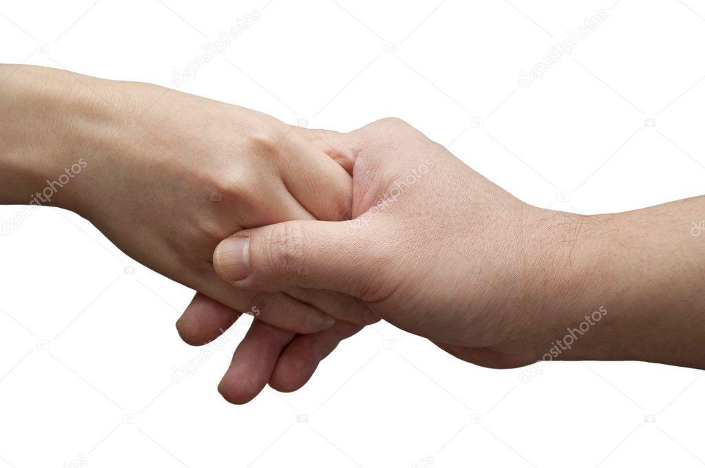 Helping hand gesture