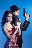 Fotografie Bonnie und Clyde