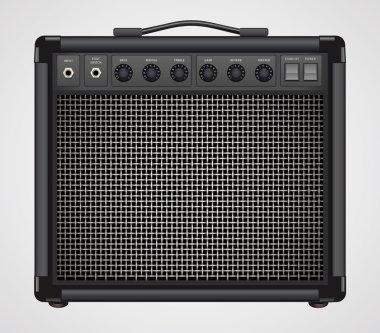Guitar Combo Amplifier Vector
