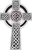 Photo Celtic cross symbol - tattoo or artwork