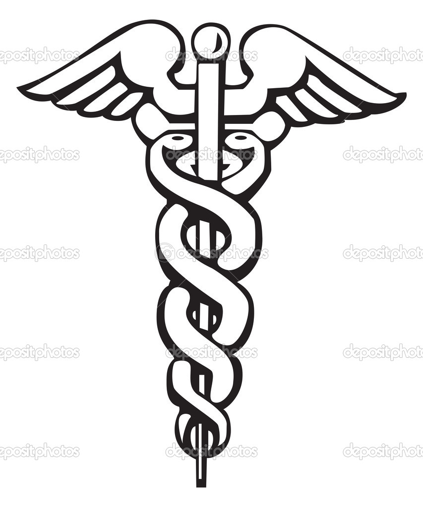 Caduceus greek sign or symbol stock vector morphart 4763156 caduceus greek sign symbol for tattoo or artwork medical symbol vector by morphart buycottarizona Image collections