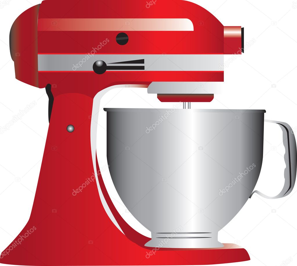 Kitchen Art Mixer: Vetor De Stock © Morphart #4763505