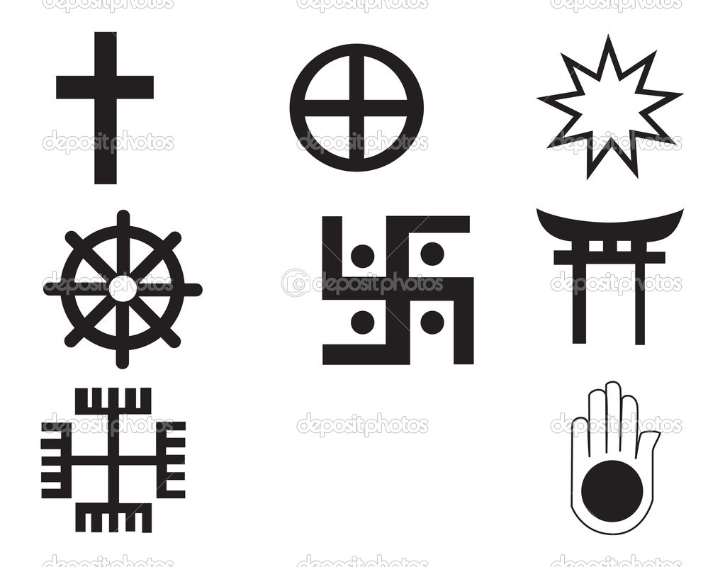 Different religions symbols stock vector morphart 4763719 different religions symbols ten different symbols fully scalable vector by morphart buycottarizona