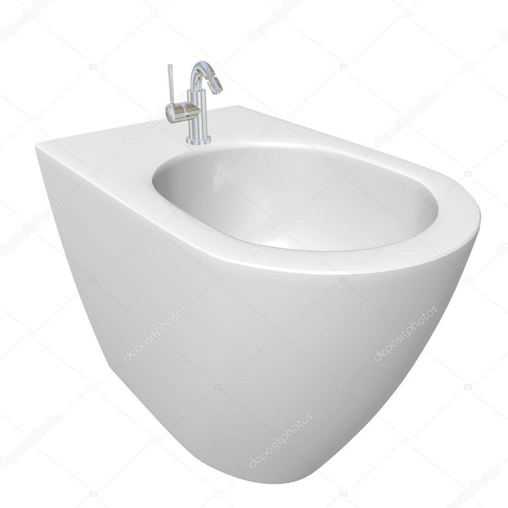 Autour de conception de bidet pour salles de bains illustration 3d photographie morphart - Bidet pour salle de bain ...