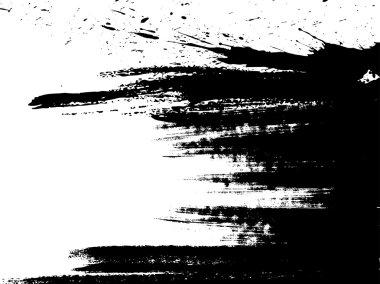 Brush strokes, vector