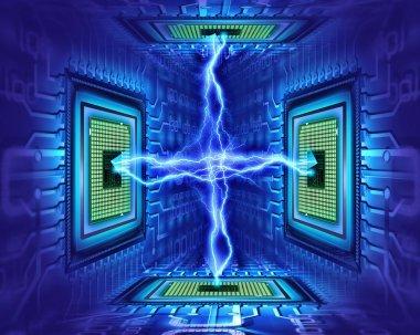 Cpu electricity