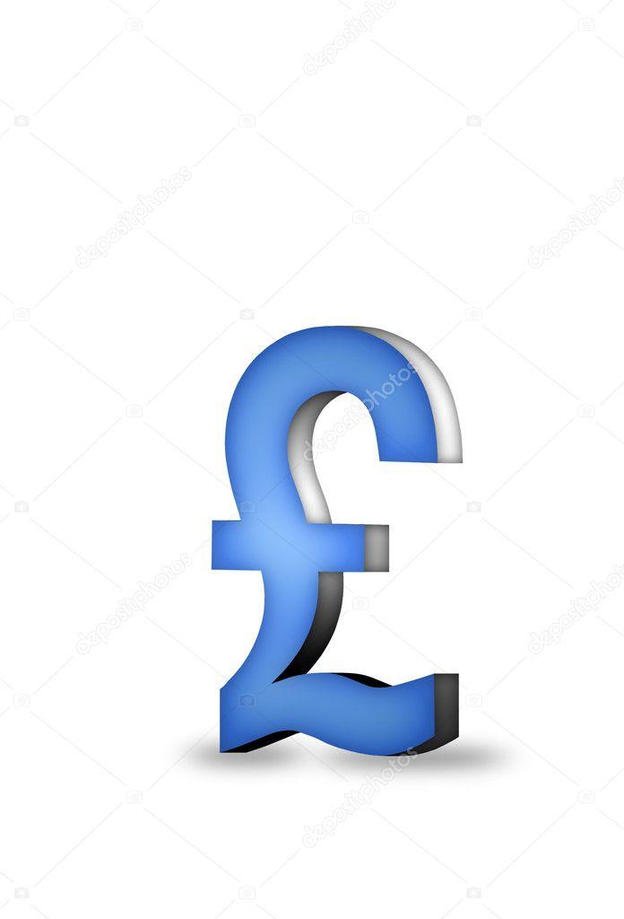 British Pound Symbol Stock Photo Crstrbrt 5347136