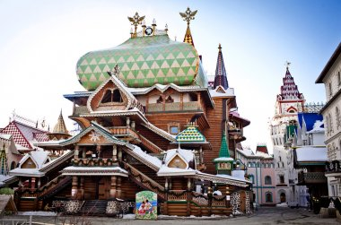 Beautiful kremlin in Izmailovo