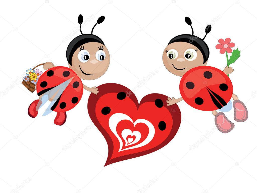 Insects with heart