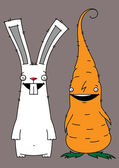 Photo Rabbit and carrot