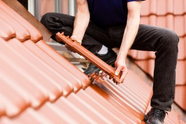 Roofing - construction worker