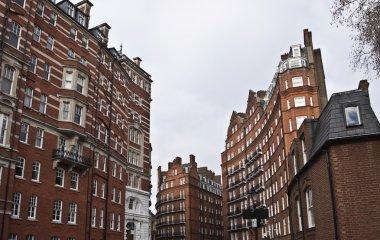 Georgian buildings.