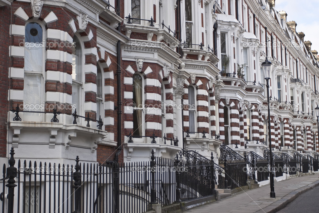 Victoria style house in London