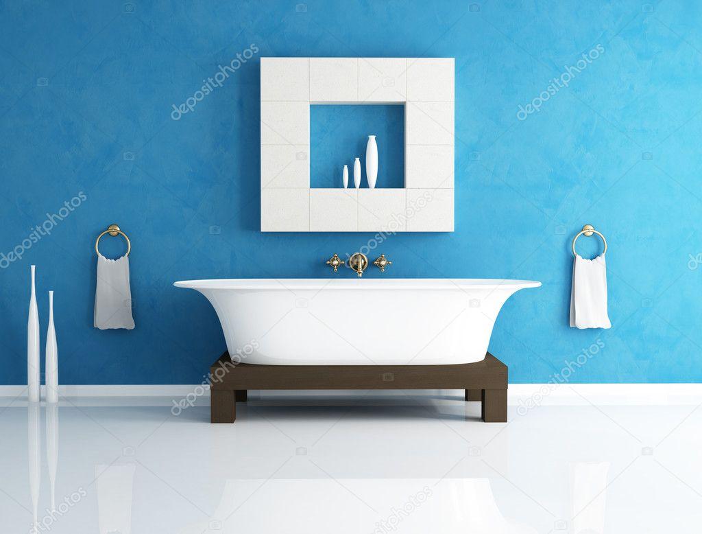 Blaue Bad — Stockfoto © archideaphoto #4876881