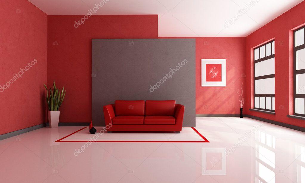 Rode en bruine lounge stockfoto archideaphoto 4903989 - Rode bakstenen lounge ...