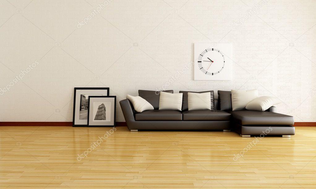Minimalistisches Wohnzimmer Stockfoto C Archideaphoto 4918738