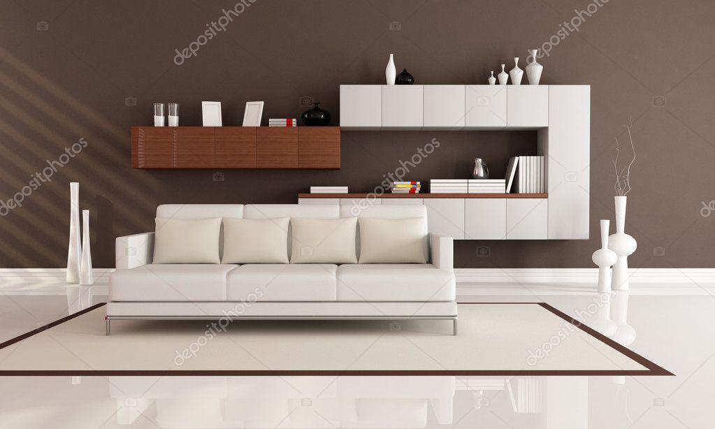Salotto Moderno Elegante : Elegante salotto moderno u2014 foto stock © archideaphoto #5312183