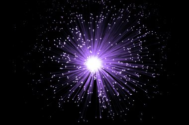 Violet fiber optic future