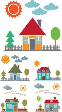 4 family houses