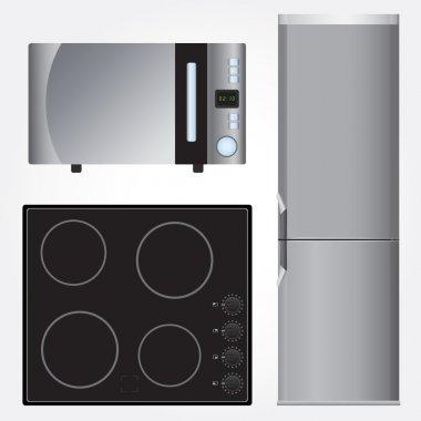 Ceramic stove, refrigerator and microwave