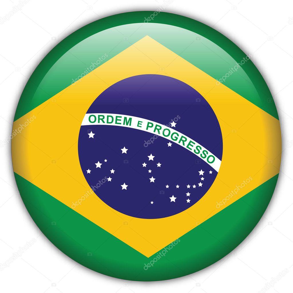 Imágenes Bandera Brazil Icono De La Bandera De Brasil